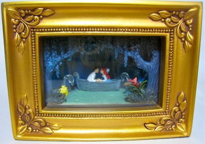 Ariel And Prince Eric In Boat Gallery Of Light Box From