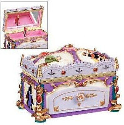 sleeping beauty deluxe musical jewelry box from our other