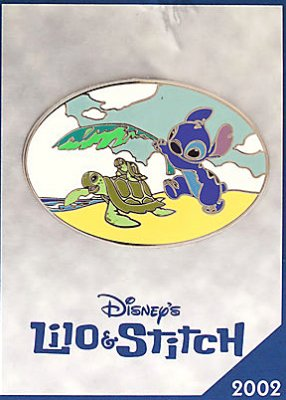 'Lilo and Stitch' Disney Store 30th anniversary pin