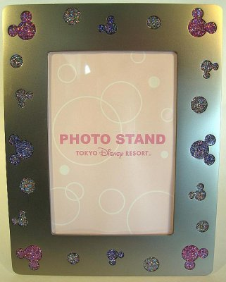 Mickey Mouse glitter silhouette picture photo frame (Tokyo ...