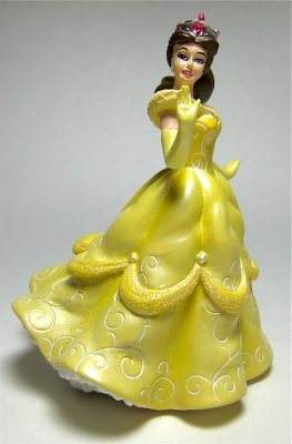 Beauty And The Beast Collectibles >> Belle figurine (Life According to Disney Princesses) from our Other collection | Disney ...