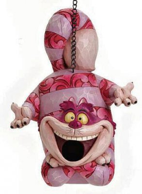 Cheshire Cat Bird House From Our Jim Shore Disney