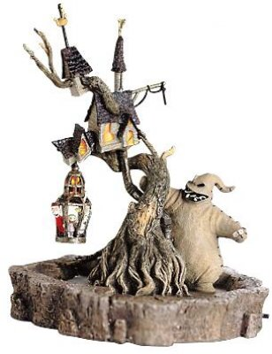 Nightmare Before Christmas Houses.Oogie Boogie Light Up Treehouse From Our Nightmare Before