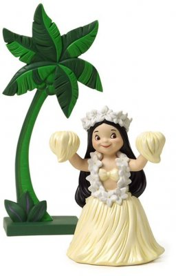 'Maeva - Welcome' - Girl from Tahiti Small World figurine (WDCC)