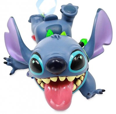 Stitch with Christmas lights Disney sketchbook ornament (2020)