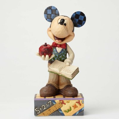 'Class Act' - Teacher Mickey Mouse figurine (Jim Shore)