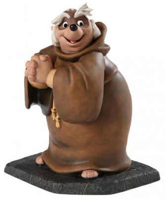 'Bemused Badger' - Friar Tuck figurine (WDCC)