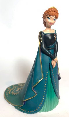 Anna PVC Disney figurine (2021) (from Disney's 'Frozen 2')