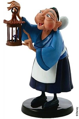 'I've Got All the Luck We Need!' - Grandma Fa and Crick-ee figurine (WDCC)