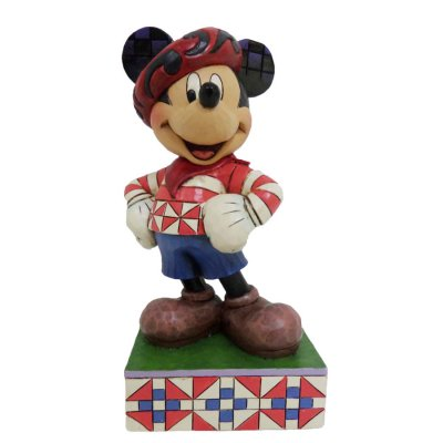 'Greetings from France' - Mickey Mouse figurine (Jim Shore Disney Traditions)