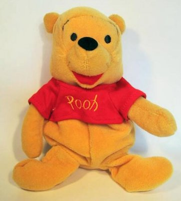 Winnie The Pooh Beanie Baby From Our Plush Collection