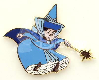 Merryweather with wand pin