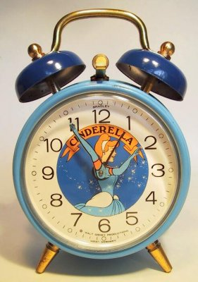 Cinderella Alarm Clock From Our Clocks And Watches