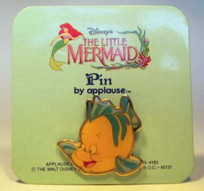 Flounder pin (Applause)