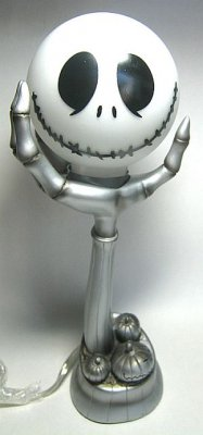 Jack Skellington Head On Hand Lamp From Our Nightmare Before Christmas Lamps Collection Disney