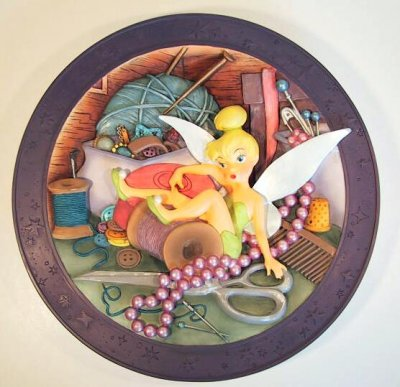 Tink Tinkerbell Where Are You Decorative Plate From