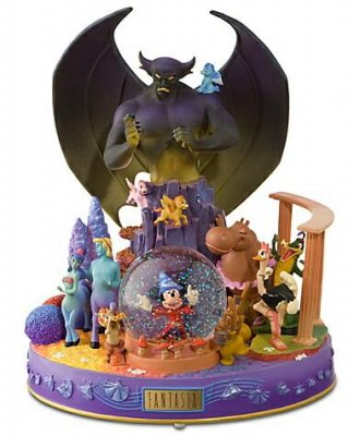 Fantasia 70th Anniversary Musical Snowglobe From Our