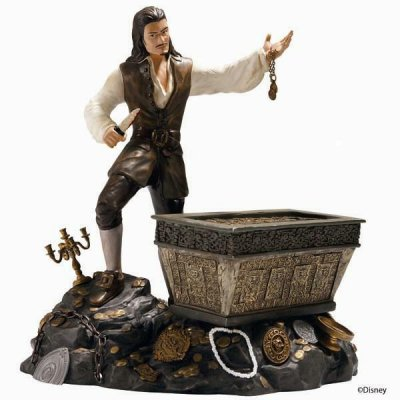 'Bloodstained Bravado' - Will Turner figurine (WDCC)