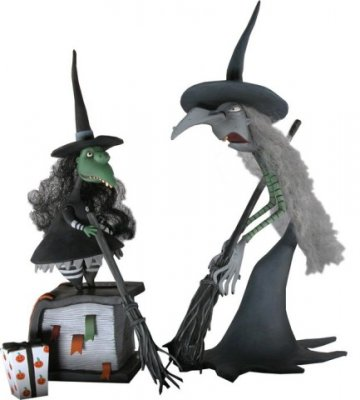 Nightmare Before Christmas witches action figure