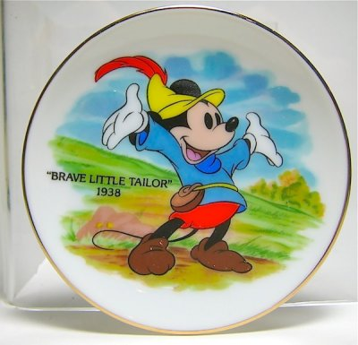 u0027Brave Little Tailoru0027 miniature decorative plate  sc 1 st  Fantasies Come True & Brave Little Tailoru0027 miniature decorative plate from our Plates ...