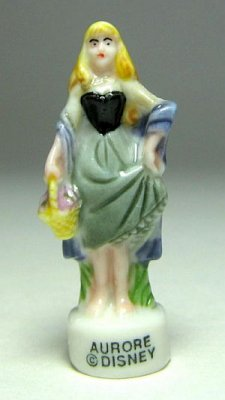 Briar Rose porcelain miniature figure