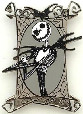 Jack Skellington Portrait Disney Pin From Our Pins