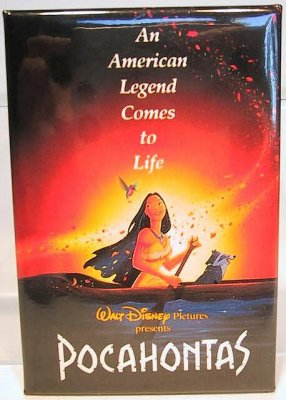 Pocahontas - An American Legend Come to Life button