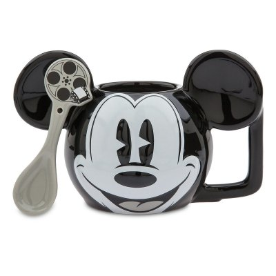Mickey Mouse Disney coffee mug and matching spoon set (2018)