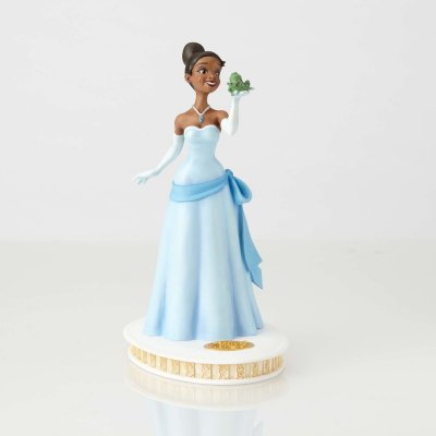 PRE-ORDER: Tiana and Frog maquette (from 'The Princess and the Frog') (Walt Disney Archive Collection)