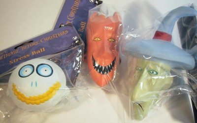Lock Shock Amp Barrel Stress Ball Set From Our Nightmare