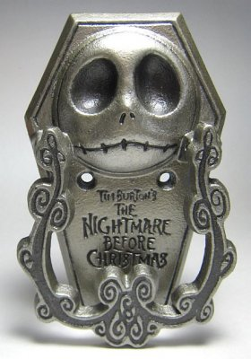 Jack Skellington Door Knocker From Our Nightmare Before