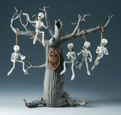 Skeleton tree 'The Cut' series 1 figure (2010) from our Nightmare ...