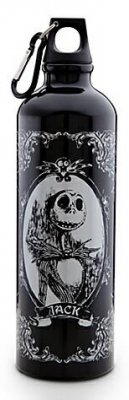 ... True > Mugs & Cups > Jack Skellington water bottle (black background