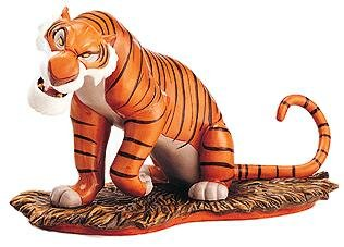 'Everyone runs from Shere Khan' - Shere Khan Disney figurine (WDCC)