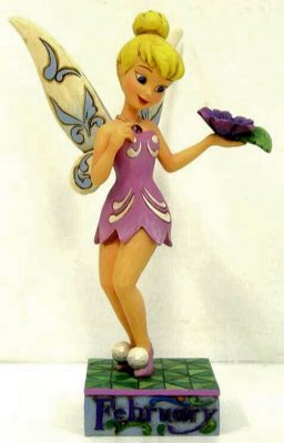 Tinker Bell February Amethyst Violet Figure From Our Jim