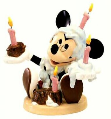'Happy Birthday!' Mickey Mouse Figurine WDCC