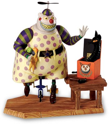 'A Frightful Sight' - Clown with the tear-away face Disney figurine (WDCC)