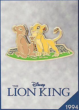 'The Lion King' Disney Store 30th anniversary pin