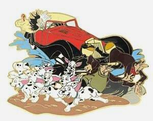 About Walt Disney Cruella Vil Driving Car Cookie Jar DalmatiansCruella Deville Car Disney