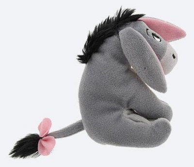 eeyore plush doll soft toy with magnetic paws from our