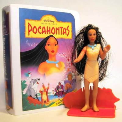 Pocahontas Fast Food Toy Masterpiece From Our Fast Food