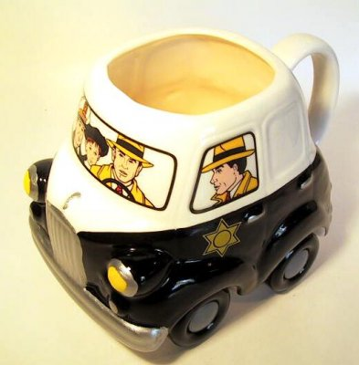 Dick Tracy Police Car Coffee Mug From Our Mugs Amp Cups
