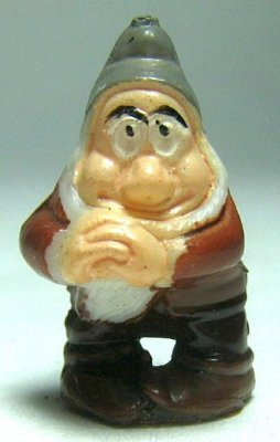 Bashful dwarf Disneykins miniature figure