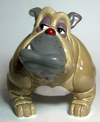 Francis The Bulldog Ceramic Figure From Our Other