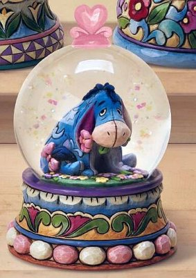 Gloom to bloom Eeyore waterball (Jim Shore)