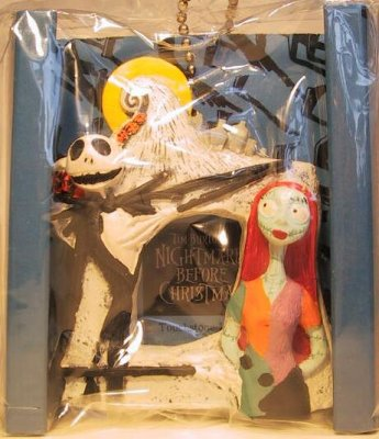 Jack Skellington & Sally mini photo frame