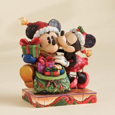 A Christmas Kiss (Jim Shore) from our Jim Shore Disney Traditions ...