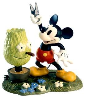 'A Little Off the Top' - Mickey Mouse Disney figurine (WDCC)