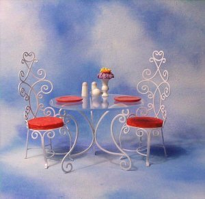 Mary Poppins Table And Chairs Figure Set Wdcc From Our