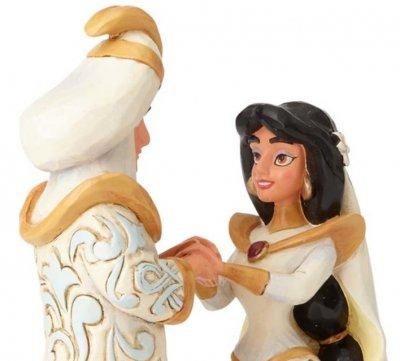A Wish Come True\' - Aladdin and Jasmine wedding figurine (Jim ...